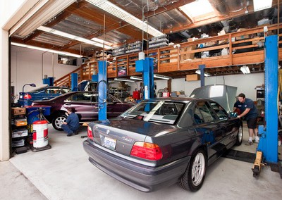 Car Repair At Heynneman European Garage