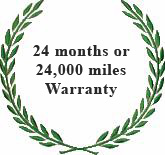 24 Month / 24,000 Miles Warranty