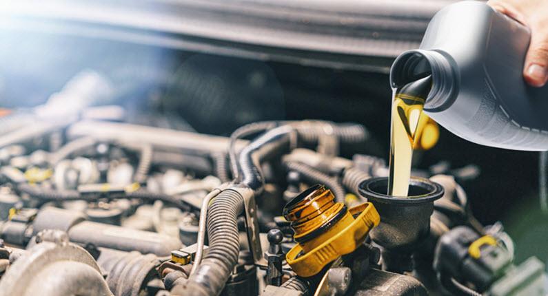 BMW Engine Oil Filling